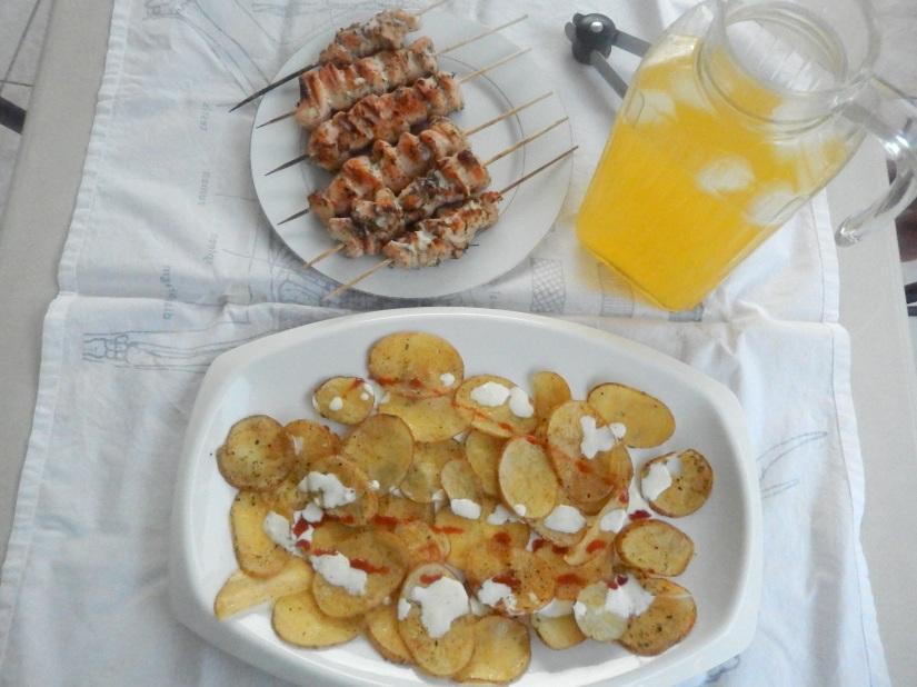 Lemon, Garlic and Herb ChickenKebabs
