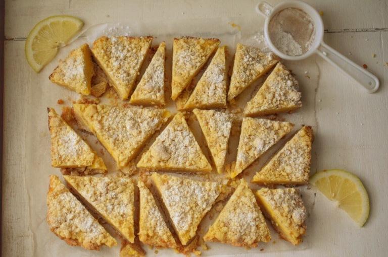Shortbread Lemon CurdBars