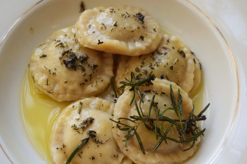 Butternut Squash & KaleRavioli