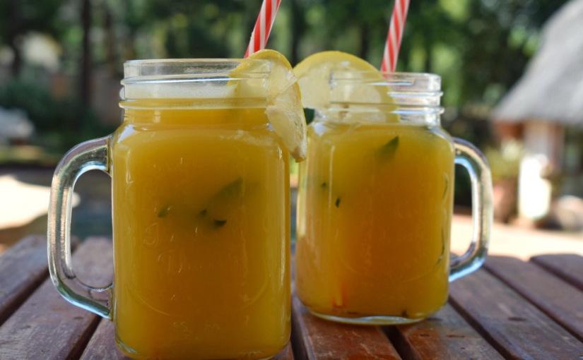 Golden Chai-Spiced PineappleCooler
