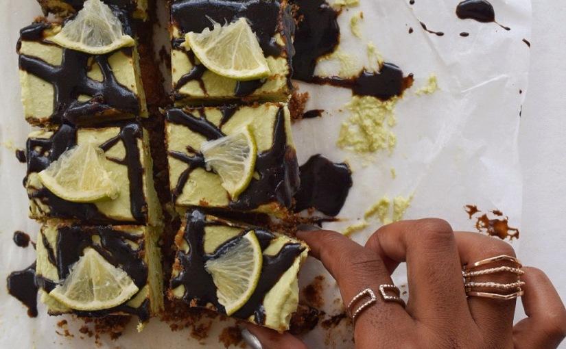 Raw Avocado Lime CheesecakeBites