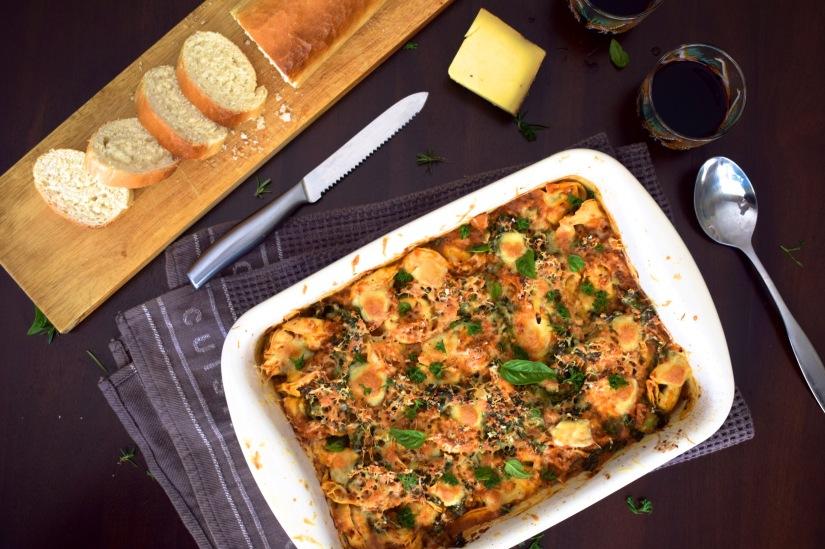 Gruyère Spinach TortelliniBake