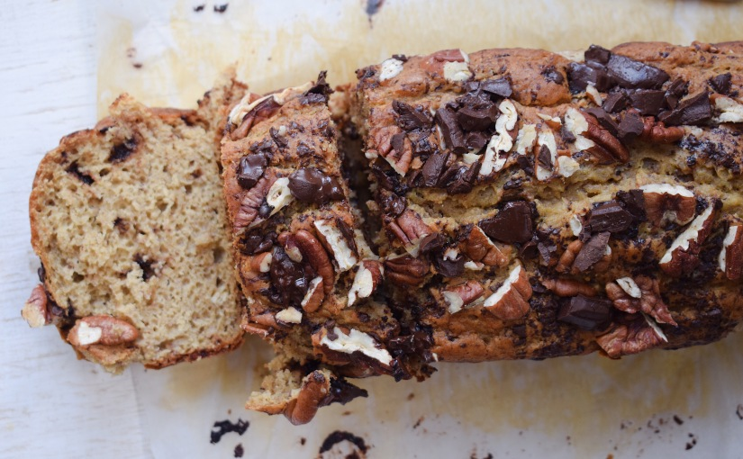 Maple Pecan Chocolate Chip BananaBread